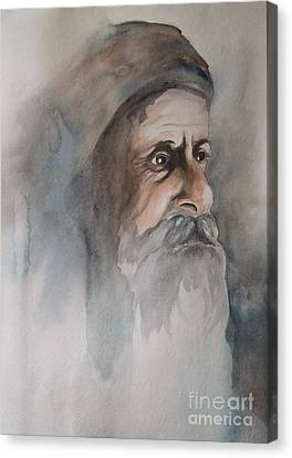 Abraham Canvas Print