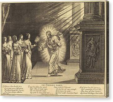 Abraham Bosse French, 1602 - 1676, The Wise Virgins Canvas Print by Quint Lox