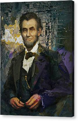 Abraham Lincoln 07 Canvas Print