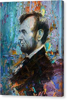 Abraham Lincoln 6 Canvas Print