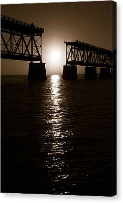 Abridged Bridge Canvas Print