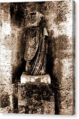 Abruzzo, Laquila, Castiglione A Casauria Canvas Print by Litz Collection