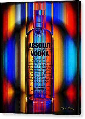Absolut Abstract Canvas Print by Chuck Staley