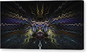 Abstract 0041 Canvas Print