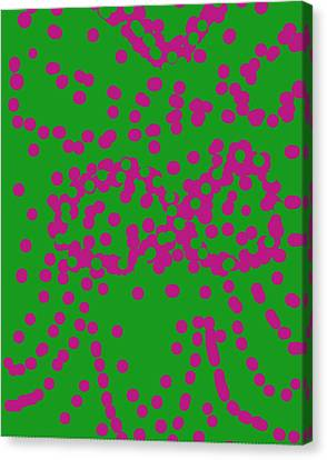 Abstract 005 Canvas Print by Earnestine Clay