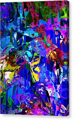 Abstract 010215 Canvas Print by David Lane