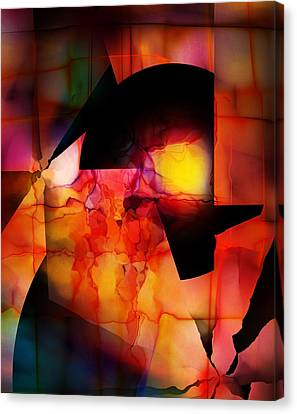 Abstract 012615 Canvas Print by David Lane