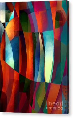 Abstract #1 Canvas Print by Elena Nosyreva