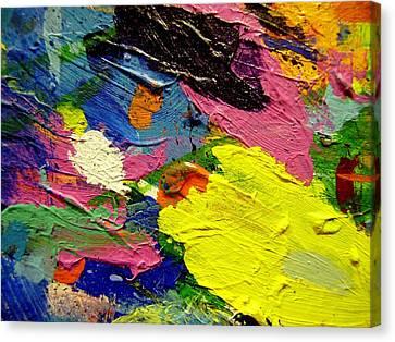 Music Inspired Art Canvas Print - Abstract  1 by John  Nolan