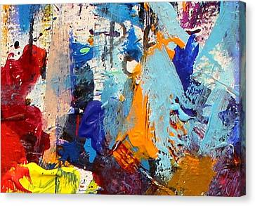 Mix Medium Canvas Print - Abstract 10 by John  Nolan