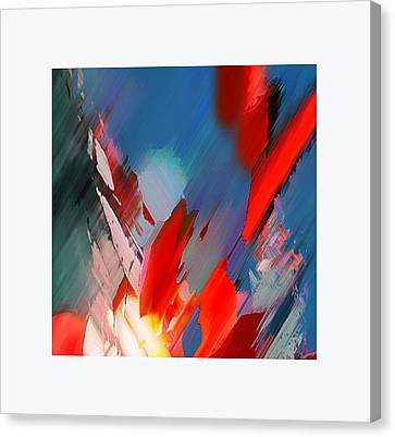 Abstract 11 Canvas Print by Anil Nene