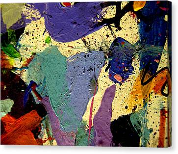 Mix Medium Canvas Print - Abstract 11 by John  Nolan