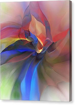 Abstract 121214 Canvas Print by David Lane