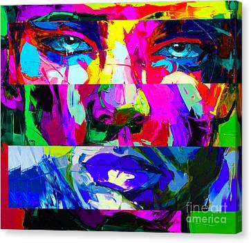 Abstract 12.20.2014..05.20.am Canvas Print by Nicholas Nixo