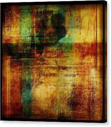 Abstract 1301 Canvas Print by Mark Preston