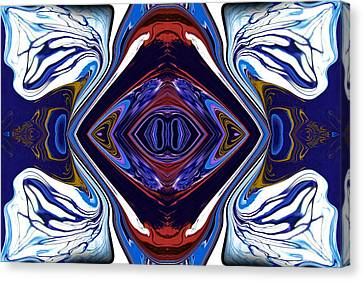 Abstract 173 Canvas Print by J D Owen