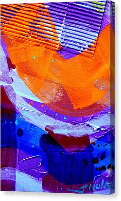 Abstract  19614 Cropped I  Canvas Print