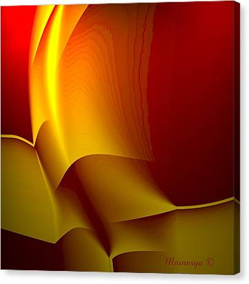 Abstract 2-0-13 Canvas Print by Ines Garay-Colomba