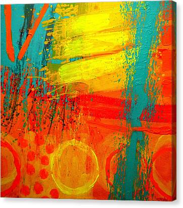 Abstract Expressionism Canvas Print - Abstract 261114 by John  Nolan