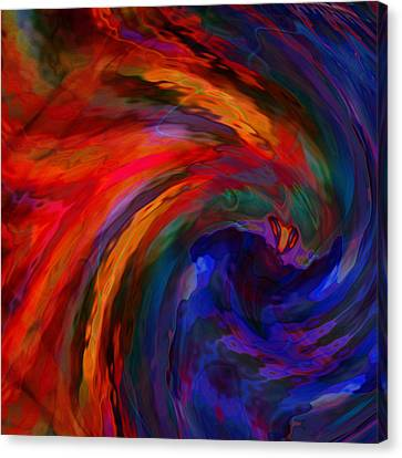 Abstract 29012013 - 042 Canvas Print by Stuart Turnbull