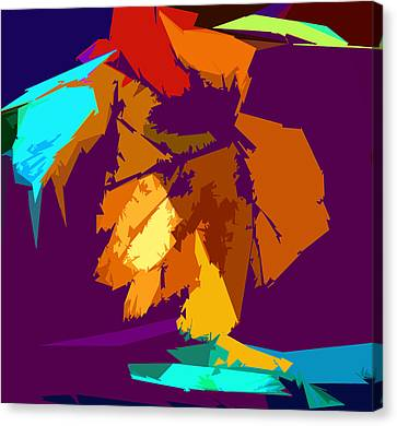 Abstract 3-2013 Canvas Print by John Lautermilch