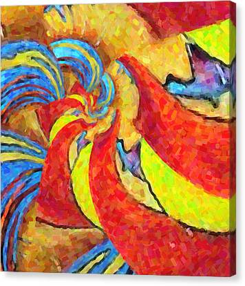 Abstract 34 Canvas Print by Kenny Francis