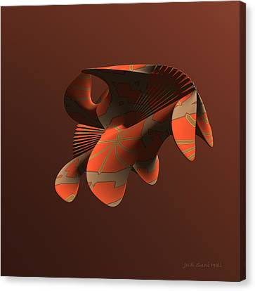 Abstract 351 Canvas Print