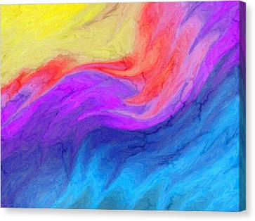 Abstract 37 Canvas Print by Kenny Francis