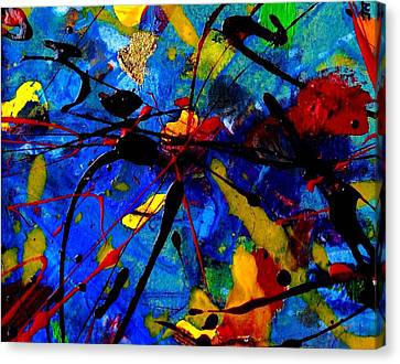 Abstract 39 Canvas Print by John  Nolan