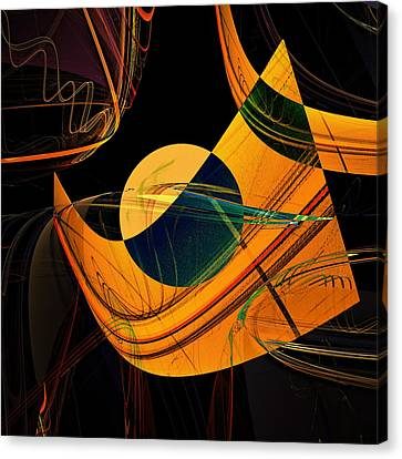 Inner Reality Canvas Print - Abstract 45 by Ricardo Szekely