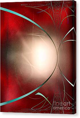 Abstract 550 Canvas Print by John Krakora