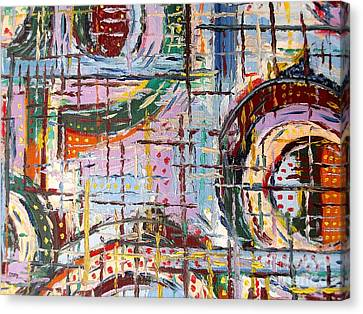 Abstract 9 Canvas Print by Patrick J Murphy