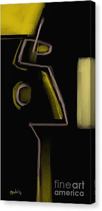Abstract 964 Canvas Print by Nedunseralathan R