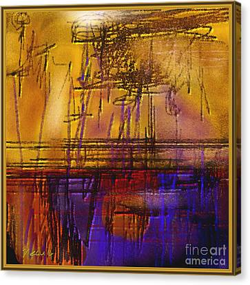 Abstract 970 Canvas Print by Nedunseralathan R