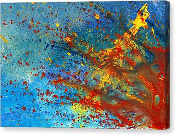 Abstract - Acrylic - Just Another Monday Canvas Print by Mike Savad