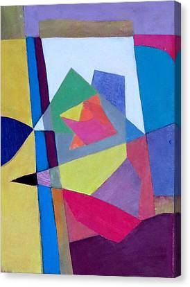 Abstract Angles II Canvas Print