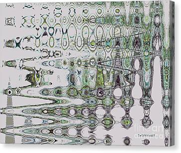 Abstract Approach II Canvas Print by Tatjana Popovska