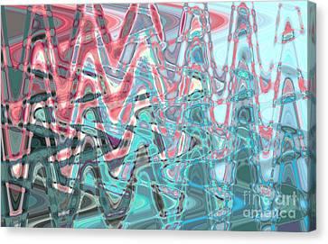 Abstract Approach Iv Canvas Print by Tatjana Popovska