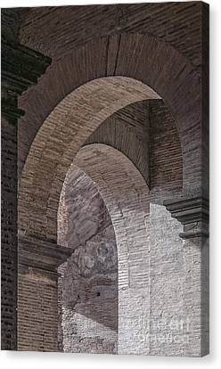 Abstract Arches Colosseum Canvas Print