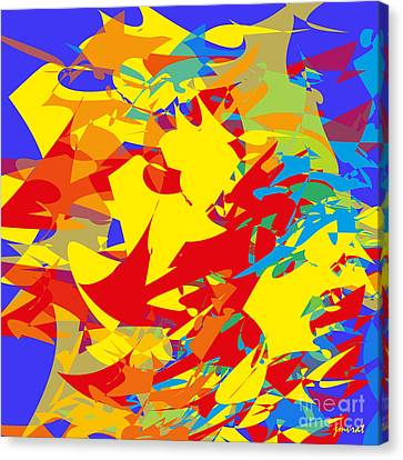 Contemporary Art M2 Canvas Print by Johannes Murat