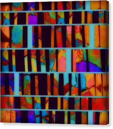 abstract - art- Color Pop  Canvas Print by Ann Powell