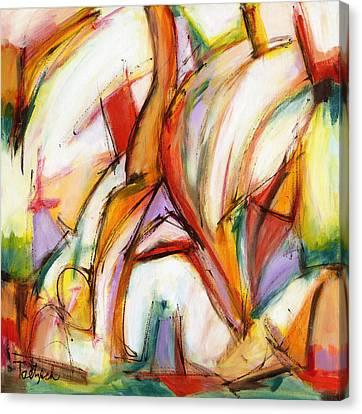 Abstract Art Forty-five Canvas Print