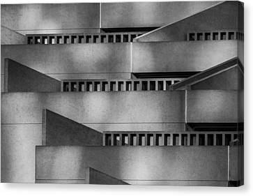 Canvas Print - Abstract Balcony by Bill Gallagher