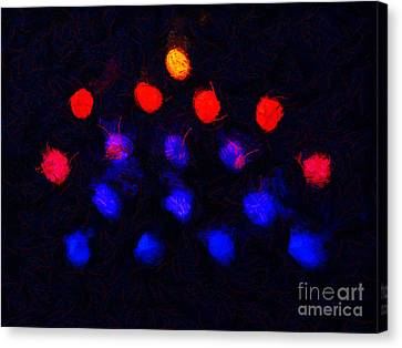 Abstract Balls #2 Canvas Print by Pixel Chimp