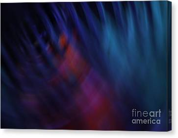 Abstract Blue Red Green Diagonal Blur Canvas Print by Marvin Spates