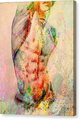 Abstract Body 5 Canvas Print by Mark Ashkenazi