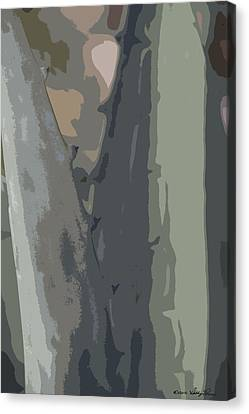 Canvas Print featuring the photograph Abstract Century II by Kathy Ponce
