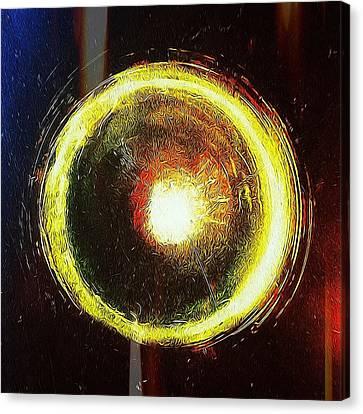 Abstract Circle Canvas Print