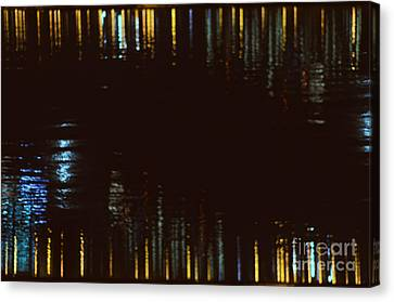 Abstract City Lights Canvas Print