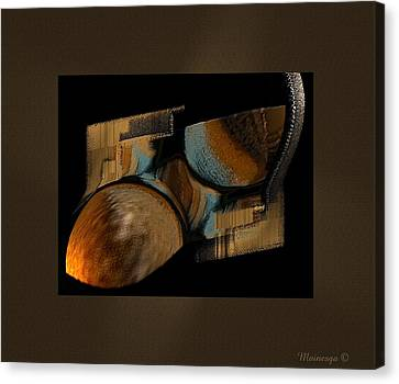 Abstract Collage Canvas Print by Ines Garay-Colomba